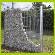 stone cage wire mesh netting welded