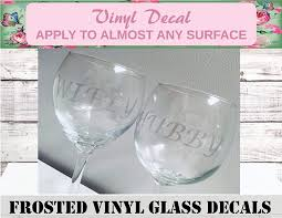 Amazon Com Mr Mrs Wedding Glass Decals Personalized Bridal Party Name Decals Custom Bridal Party Cup Decals Personalized Wedding Name Decals Custom Wedding Decal Name Glass Handmade