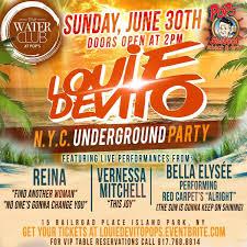 Louie DeVitos NYC Underground Party at ...