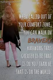 what to do when god calls you out of your comfort zone christian