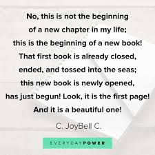 quotes about new beginnings and starting fresh