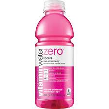 vitaminwater zero focus bottle 20 fl