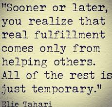 Elie Tahari: Helping Others | Helping others quotes, Medical quotes, Helping  others
