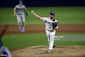 Kirby Yates of the San Diego Padres during the game against the ...