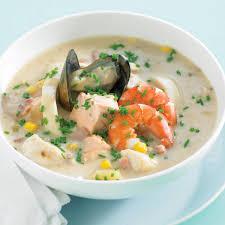 Seafood Chowder No Cream Recipes