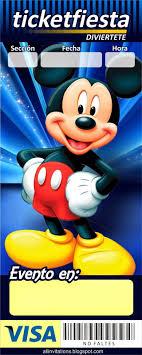 Kit Imprimible Mickey Mouse Invitaciones Mickey