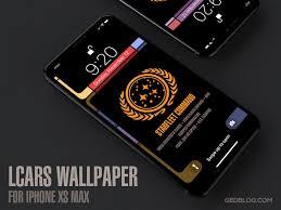star trek tng lcars wallpaper for