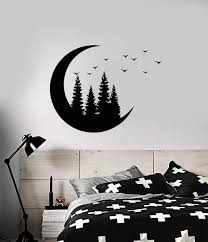 Nature And Trees Wall Vinyl Decals Tagged Moon Decal Wallstickers4you