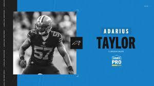 Panthers sign Adarius Taylor, waive Austrian Robinson