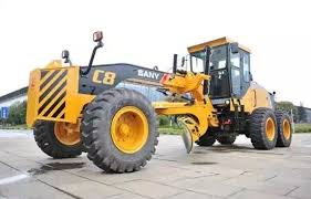 sany launches c8 series motor grader