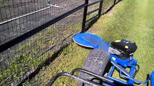 Fence Line Trimmer Tow Behind Youtube