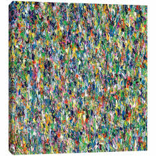 Melissa Ellis Harmonize Multi-Color Textured Wall Art- 36 x 36 in. | At Home