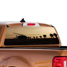 Perforated Decal Ford Ranger Decal 2010 Present