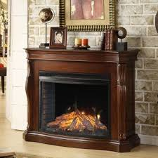 mantle electric fireplace