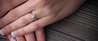 best princess cut diamond settings