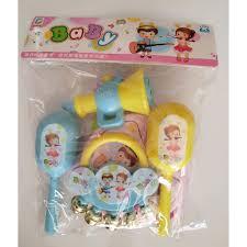 Mua [HÀNG ĐẸP GIÁ TỐT]đồ chơi cho bé - Trọn Bộ Xúc Xắc Lục Lạc ...