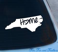 North Carolina Decal State Decal Home Decal Nc Sticker Love Laptop Macbook Car Decal Vinyl Designs Love Stickers North Carolina Homes
