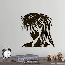 Amazon Com Manga Anime Neon Genesis Evangelion Wall Decals Asuka Stickers Decorative Design Ideas For Your Home Or Office Walls Removable Vinyl Murals Ec 1062 Arts Crafts Sewing