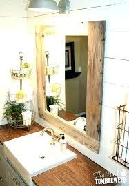 frame a bathroom mirror mirror frames