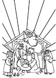 Kids N Fun 31 Kleurplaten Van Bijbel Kerstverhaal