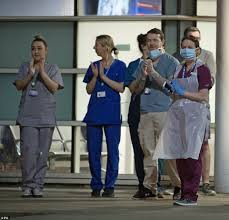 Princes George leads clap for NHS ...