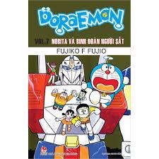 Truyện - Doraemon Truyện Dài Tập 7 - Nobita Và Binh Đoàn Người Sắt ...