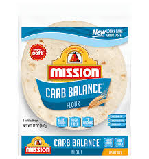 carb balance soft taco flour tortillas
