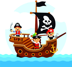 Amazon Com Colorful Kids Colorful Pirate Ship Wall Decals Boys Room Pirates Ships Kids Decor Sticker Room Decoration For Bedrooms Stickers Sticker Boy Designs Size 20x20 Inch Home Kitchen