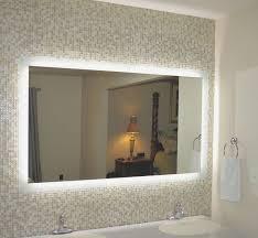 wall mirror round vanity bathroom decor
