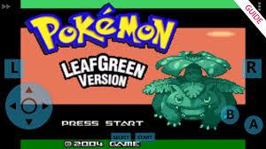 Download Guide for Pokemon Leaf Green (GBA) 12.1.0.pokemon APK ...