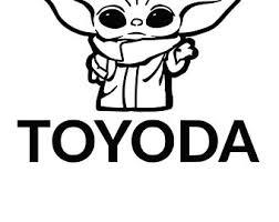 Toyota Decals Etsy