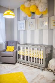 nursery yellow and gray nursery life