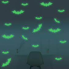 Walplus Bat Glowing Wall Decal Wayfair