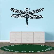 Dragonfly Wall Decal Vinyl Decal Car Decal Vd010 36 Inches Walmart Com Walmart Com
