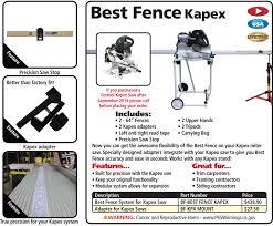 Kapex Mount For Best Fence Fastcap