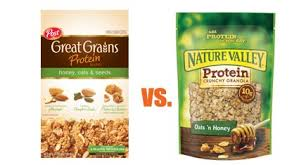 protein blend vs nature valley