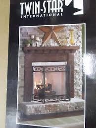 twin star fireplace wood surround kit