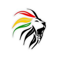 Rastafari Lion Sticker Marley Lion Art Dreadlock Rastafari Etsy