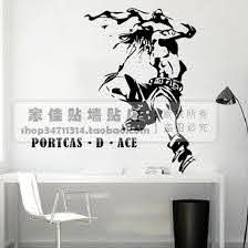 Ace One Piece Wall Decal Vinyl Wall Stickers Decal Decor Home Decorative Decoration Anime One Piece Car Sticker Decorative Wall Decal Wall Decalsone Piece Wall Sticker Aliexpress