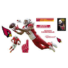 Fathead Larry Fitzgerald Arizona Cardinals 11 Pack Life Size Removable Wall Decal