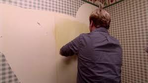 how to remove vinyl wallpaper l