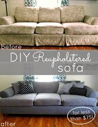 diy couch reupholster