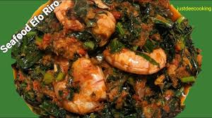 Nigerian Efo Riro/Vegetable Soup ...