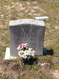 Julia Myrtle Thompson Bolt (1898-1964) - Find A Grave Memorial