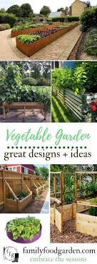 Stunning Vegetable Garden Ideas Family Food Garden