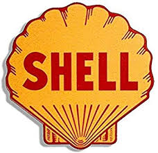 Amazon Com Vintage Shell Gas Station Logo Shaped Sticker Motorcycle Car Gasoline Sticker Graphic Decal Automotive
