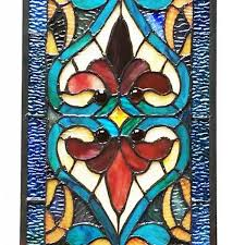 green stained glass art strip glass