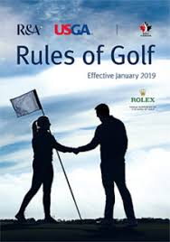 Golf's modernized Rules and new Player's Edition published – Golf NB