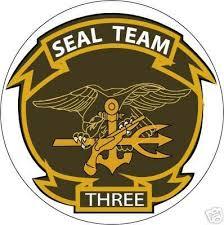 Sticker Usn Unit Navy Seal Team 3 M C Graphic Decals