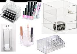 acrylic makeup storage from ebay uk